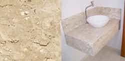 Pia de mármore