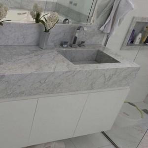 Pia de mármore para banheiro preço